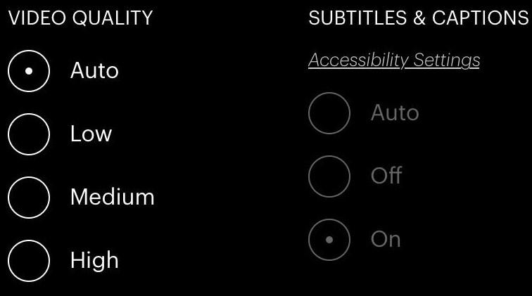 Hulu subtitles error