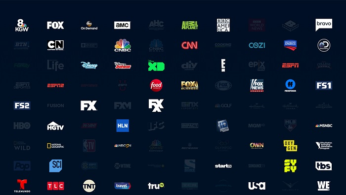 record channels on PlayStation Vue