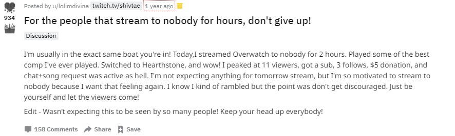 Twitch reddit