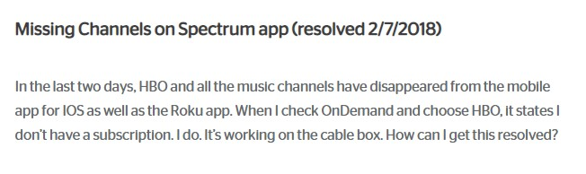 Spectrum TV app not working? - Common problems and fixes