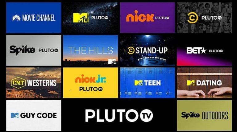 Pluto TV account