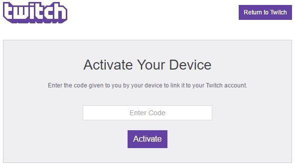 Activate Twitch account on PlayStation, Xbox, Roku & more | Stream Diag