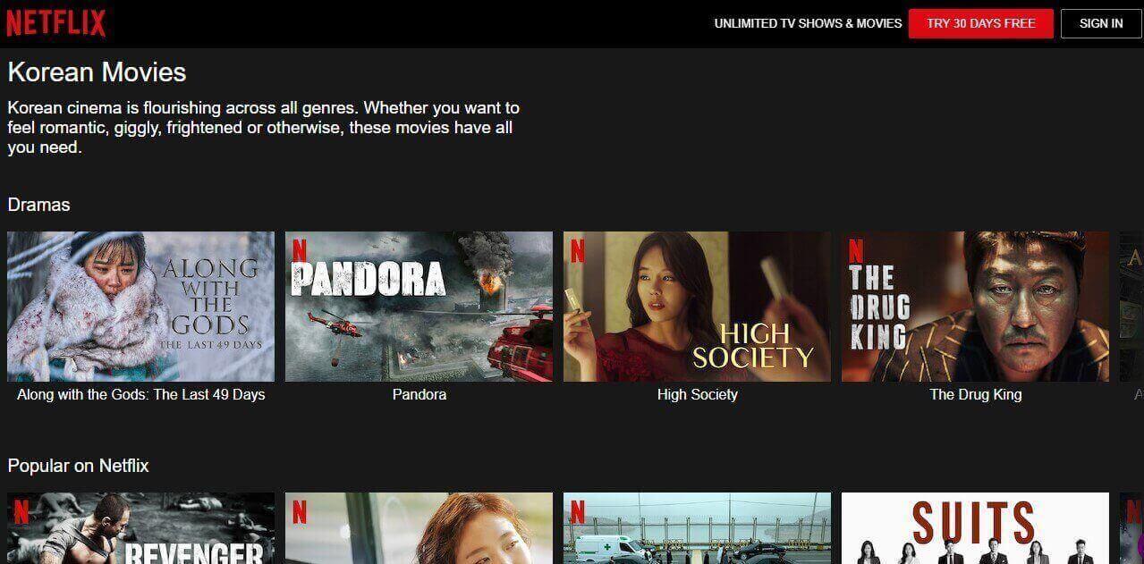 Netflix K drama