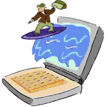 internet surfing