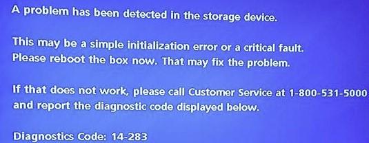DirecTV error code 14