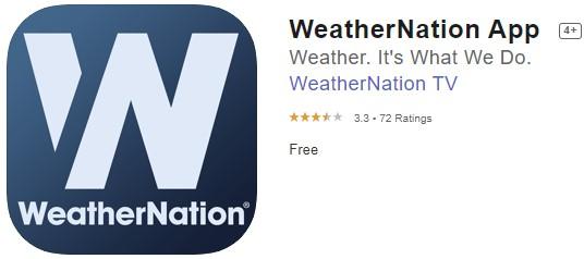 Weather Nation App