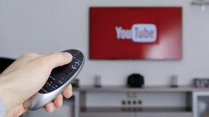 watching YouTube on TV