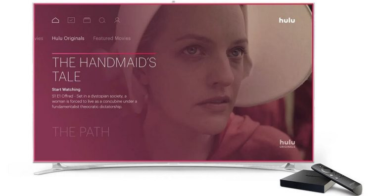 Tv showing Hulu