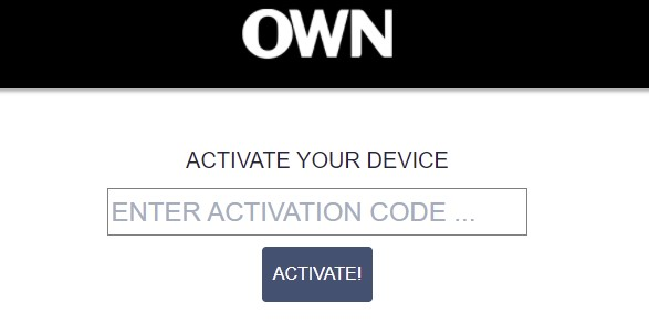 Activate OWN