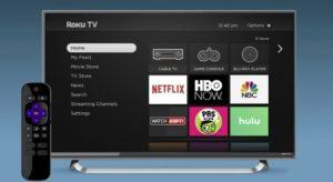 Roku TV set up
