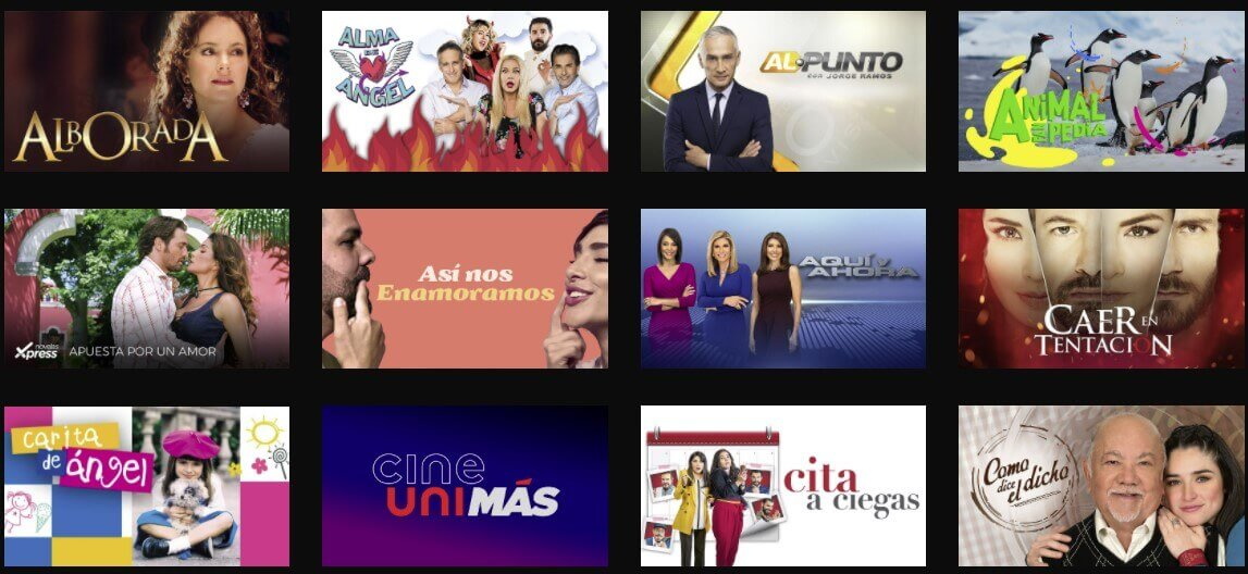 Univision programs