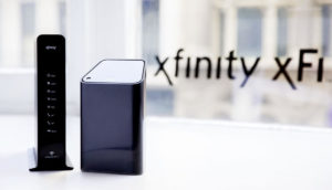 Xfinity router and mesh