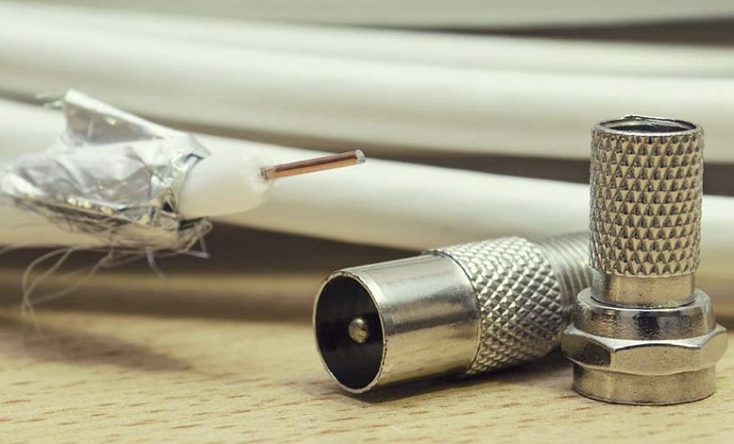 coaxial cable with foil